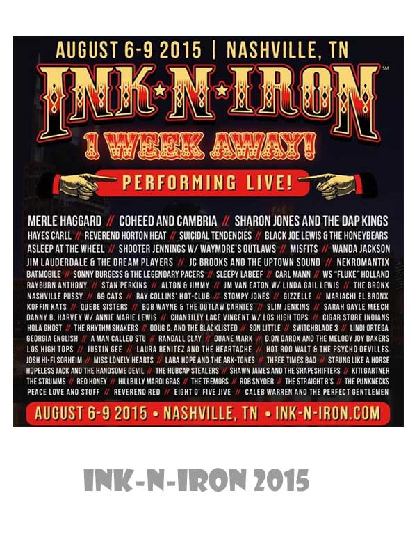 Ink-N-Iron 2015 Nashville